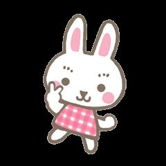 Pinky of rabbit  (English)