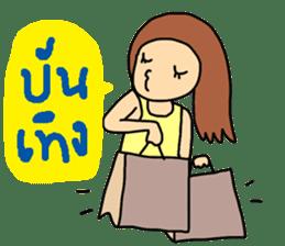 ngingi lovely girl sticker #6931414