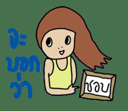 ngingi lovely girl sticker #6931421