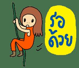 ngingi lovely girl sticker #6931428