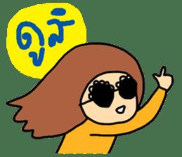 ngingi lovely girl sticker #6931434