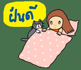 ngingi lovely girl sticker #6931447