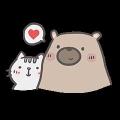 คุณหมีกับเจ้าเหมียว