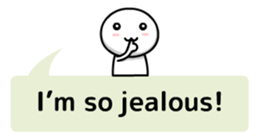 Simple Balloon Messages sticker #6932592
