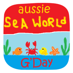 Aussie Slang and Sea World creatures