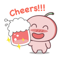 Cute Cherry Beer sticker #6934113