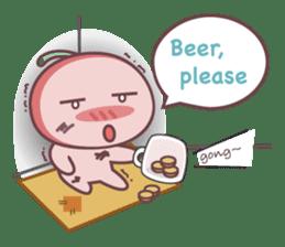 Cute Cherry Beer sticker #6934118