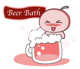 Cute Cherry Beer sticker #6934124