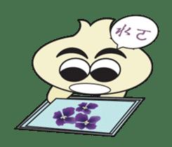 Onion boy life expression sticker #6934409