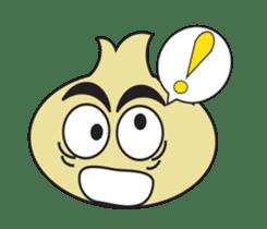 Onion boy life expression sticker #6934415