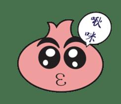 Onion boy life expression sticker #6934423