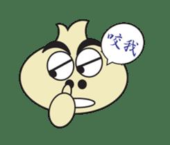 Onion boy life expression sticker #6934429