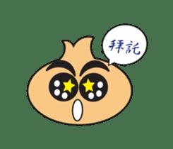 Onion boy life expression sticker #6934431