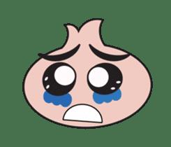 Onion boy life expression sticker #6934444
