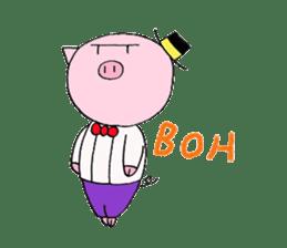 Osharebuta Tom sticker #6934780