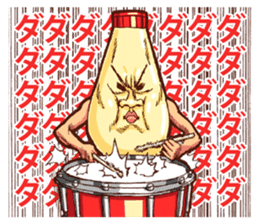 Mayonnaise Man 5 sticker #6935998