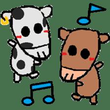 Crappy animals sticker #6936287