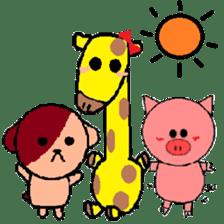 Crappy animals sticker #6936295