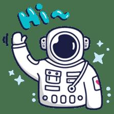 Cosmic Stranger sticker #6937576