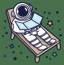 Cosmic Stranger sticker #6937580