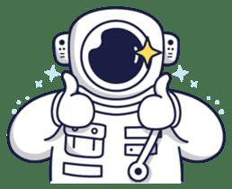 Cosmic Stranger sticker #6937585