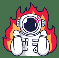 Cosmic Stranger sticker #6937587