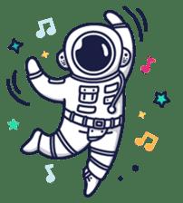 Cosmic Stranger sticker #6937592