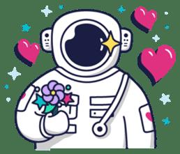 Cosmic Stranger sticker #6937594