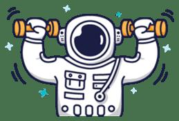 Cosmic Stranger sticker #6937600