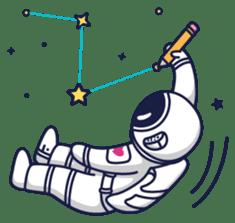 Cosmic Stranger sticker #6937602