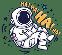Cosmic Stranger sticker #6937610