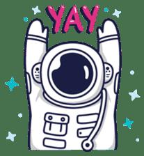 Cosmic Stranger sticker #6937614
