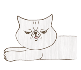 The daily life done freely of funny cat sticker #6937736