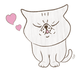 The daily life done freely of funny cat sticker #6937740