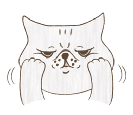 The daily life done freely of funny cat sticker #6937743
