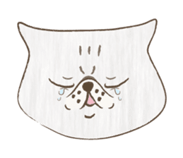 The daily life done freely of funny cat sticker #6937750