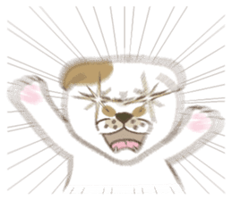 The daily life done freely of funny cat sticker #6937751