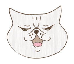 The daily life done freely of funny cat sticker #6937757