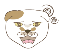 The daily life done freely of funny cat sticker #6937761