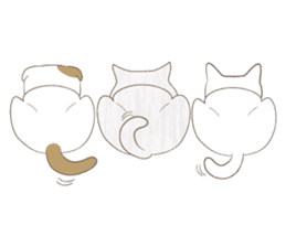 The daily life done freely of funny cat sticker #6937768