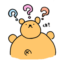 "Your familiar BEAR, ""PONKUMA""! sticker #6937821"