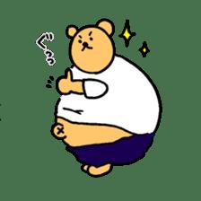 "Your familiar BEAR, ""PONKUMA""! sticker #6937822"