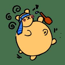 "Your familiar BEAR, ""PONKUMA""! sticker #6937848"