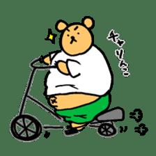 "Your familiar BEAR, ""PONKUMA""! sticker #6937850"