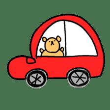 "Your familiar BEAR, ""PONKUMA""! sticker #6937851"