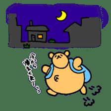 "Your familiar BEAR, ""PONKUMA""! sticker #6937854"