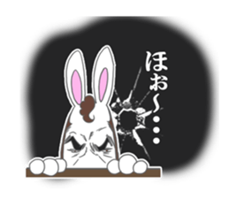 Rabbit executive director sticker #6941685