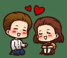 sweetie couple (EN) sticker #6950535