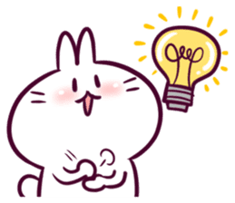 Bosstwo - Cute Rabbit POOZ! sticker #6953963