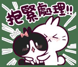 Bosstwo - Cute Rabbit POOZ! sticker #6953975